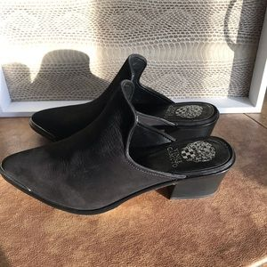 Vince Camuto Leather Slip on